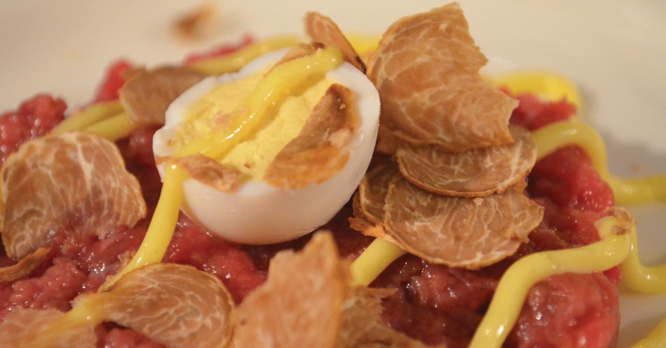 uovo al tartufo