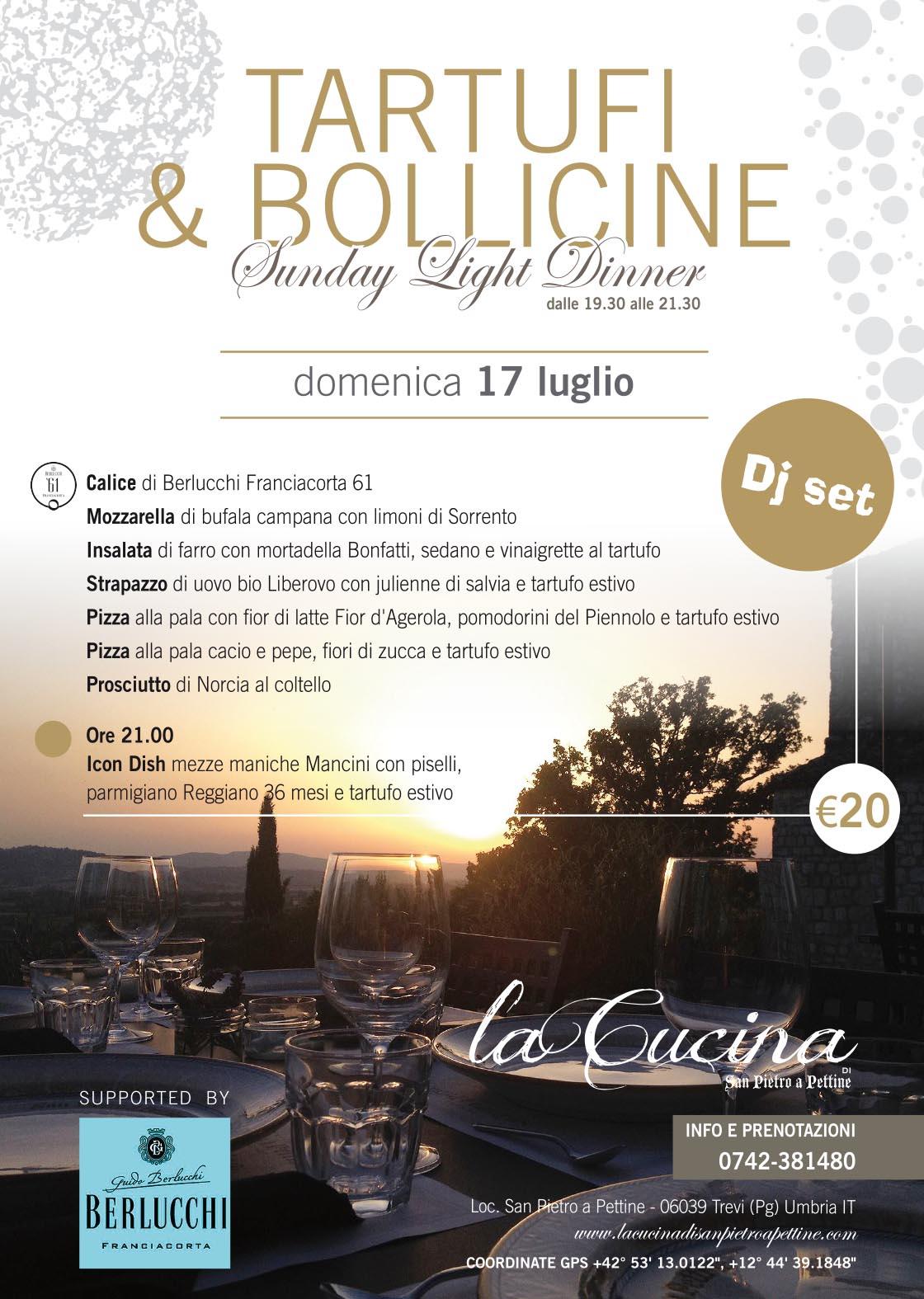 Tartufi & Bollicine 17 Luglio