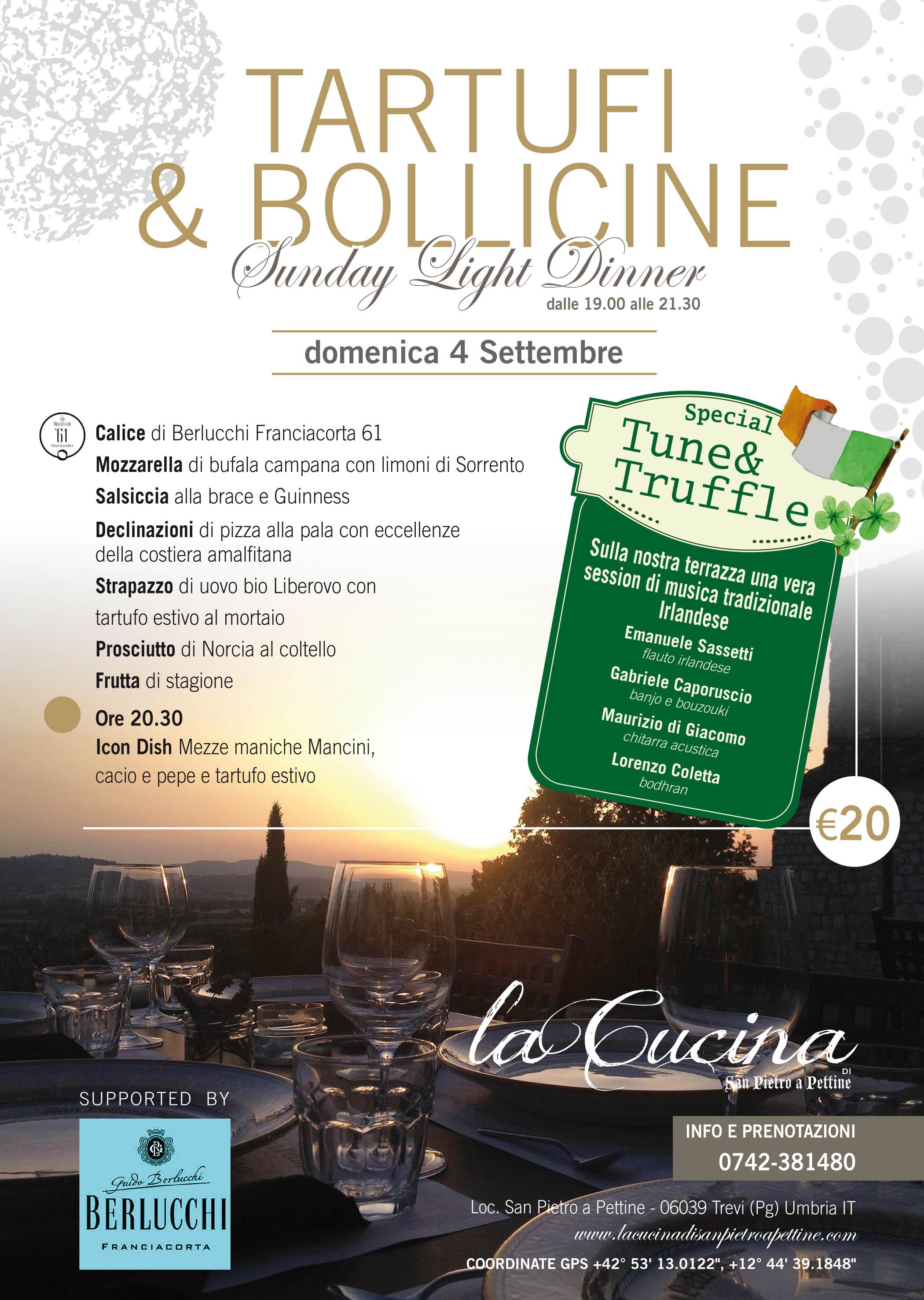 Tartufi E Bollicine Irish Edition